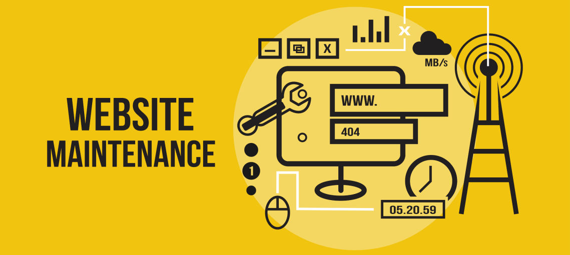 website maintenance south Africa